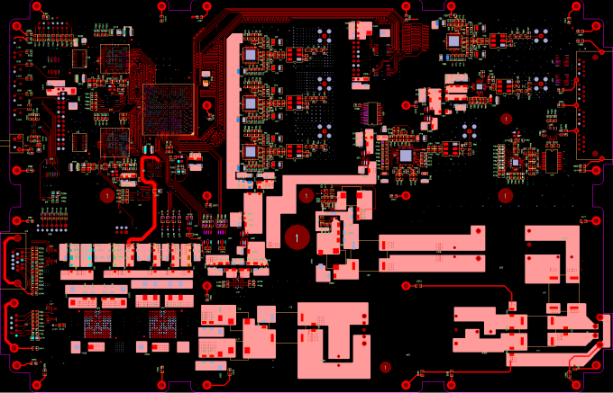 Customized PCB Layout Services One Stop Service Rigid Flex Board Type
