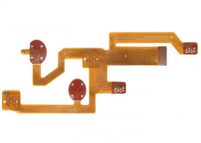 Immersion Gold Rigid Flex PCB Two Sided with Multiple Interconnects