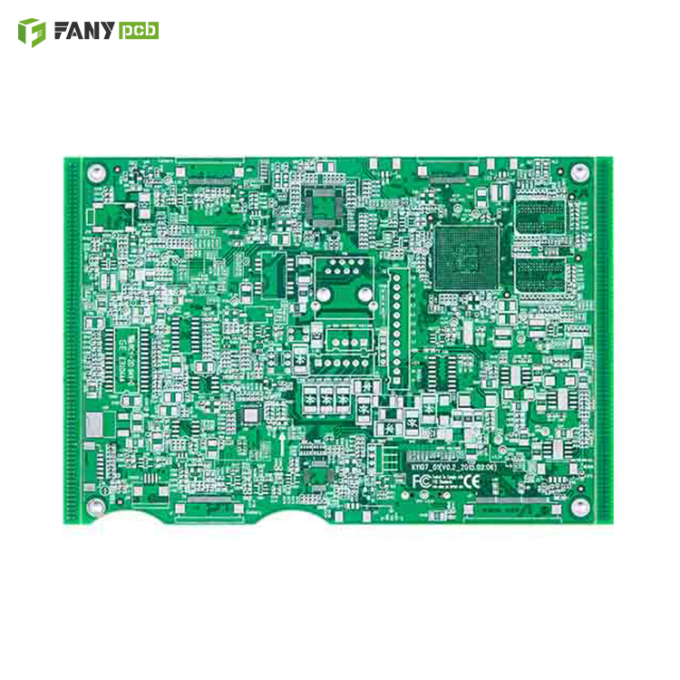 Fanyi PCB blind and buried via fr4 multilayer pcb circuit board