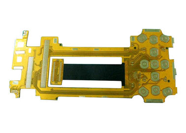 Double Sided FPC Board Yellow Solder Mask with 0.5mm Board Thickness