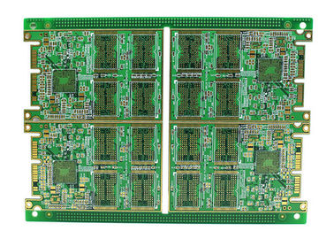 8 Layer High TG FR4 Multilayer PCB Printed Circuit Board HASL Lead Free