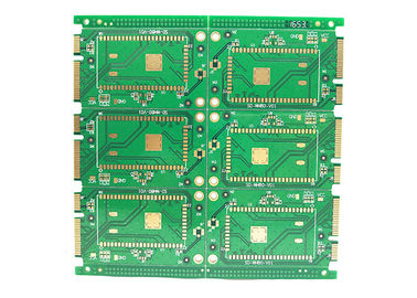 China Custom Prototype FR4 Multilayer PCB Fast Turn 6 Layers Fr4 Rigid Multilayer PCB factory
