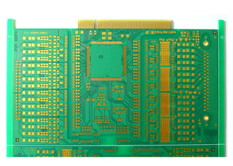 HDI PCB Printed Circuit Board Maker Smart Electronics 2 Layer Gold Finger