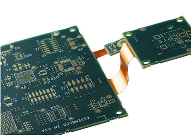 Motherboard Rigid Flex PCB Manufacturing 4-6 Layer 1oz Copper Thickness