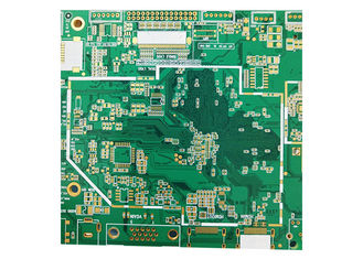 China OEM Fr4 Double Sided PCB Customised Printed Circuit Board with Green Solder Mask factory