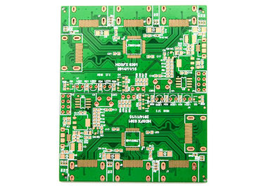 Fr4 Base 2 Sided PCB Board Strict Control OEM 1.0mm 1.6mm Thick