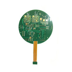 China Single And Double Side Rigid Flex PCB FR4 With ENIG Immersion Gold Surface factory