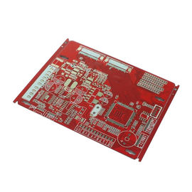 China 4 Layers Red Solder Mask 1.6mm FR4 Multilayer PCB , 0.2-3.5mm Rigid Flex PCB factory