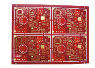 High Performance Printed Circuit Boards 2oz Cooper FR4 TG150 Solder Mask  Red Color supplier