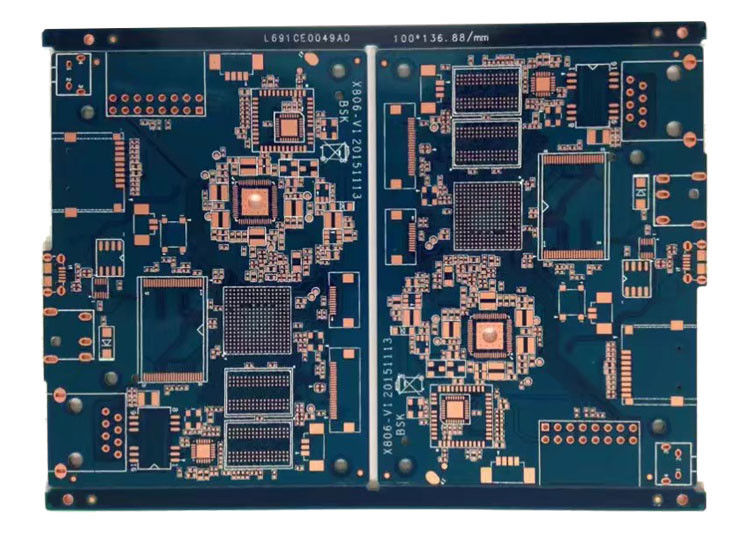 Customized Multi Layer High Density HDI  FR4 PCB with BGA / High TG supplier
