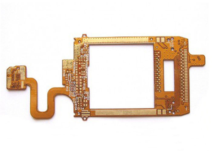 Immersion Gold Rigid Flex PCB Two Sided with Multiple Interconnects supplier