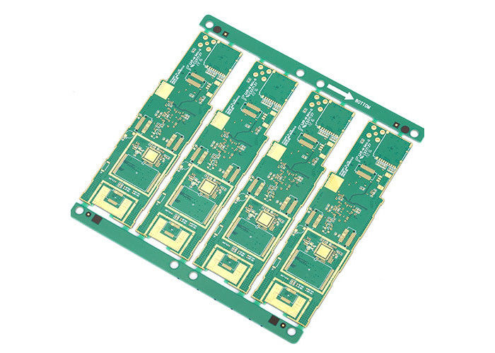 Rogers 5880 4350 FR4 Multilayer PCB Electronic Board With Through Hole supplier
