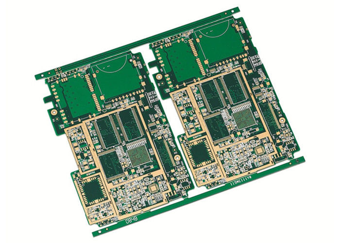 High Frequency HDI PCB Board Fr4 0.5mm Cooper Plating Manufacturing supplier