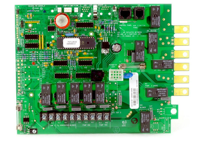 OEM PCB Board Assembly Printed Circuit Board PCB Fabrication 0.35mm BGA Pitch supplier