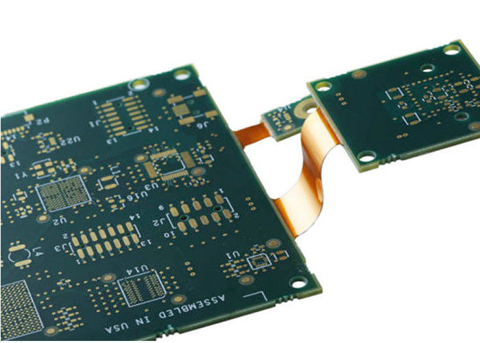 Motherboard Rigid Flex PCB Manufacturing 4-6 Layer 1oz Copper Thickness supplier