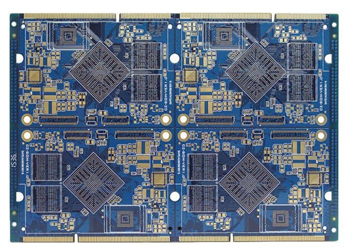 Quick Prototype Kb Double Sided Pcb , 94v0 Fr4 Two Sided Pcb Fabrication With ROHS supplier