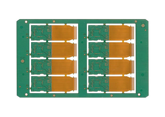 OEM Double Sided Rigid Flex PCB Sample Prototyping Design HASL Surface Finishing supplier