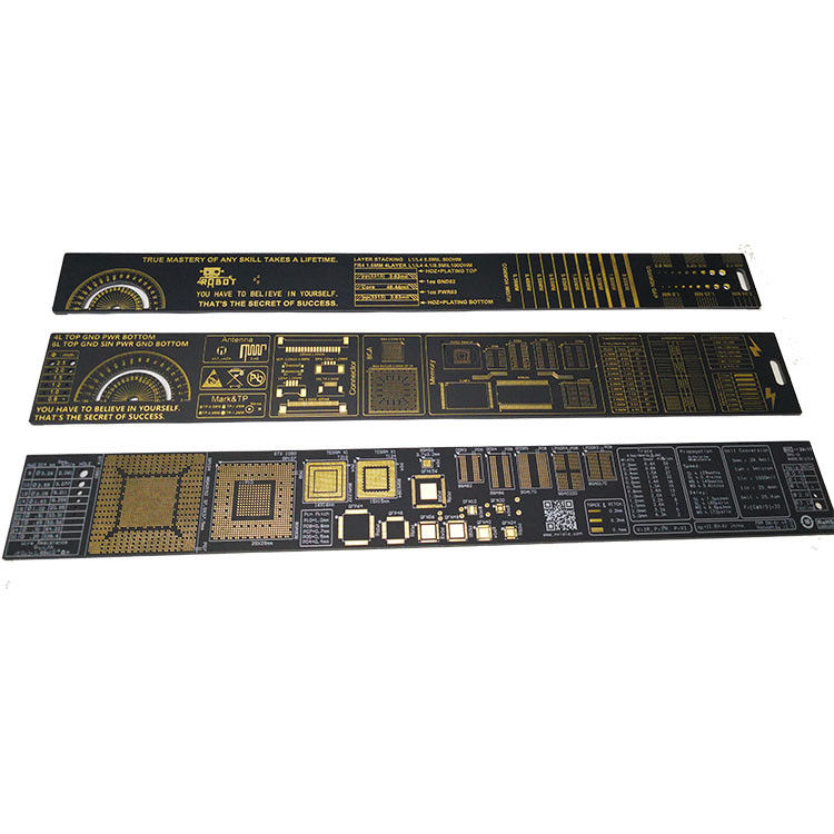 Free Design Customized PCB Accessories PCB Ruler With Company Name And Logo supplier