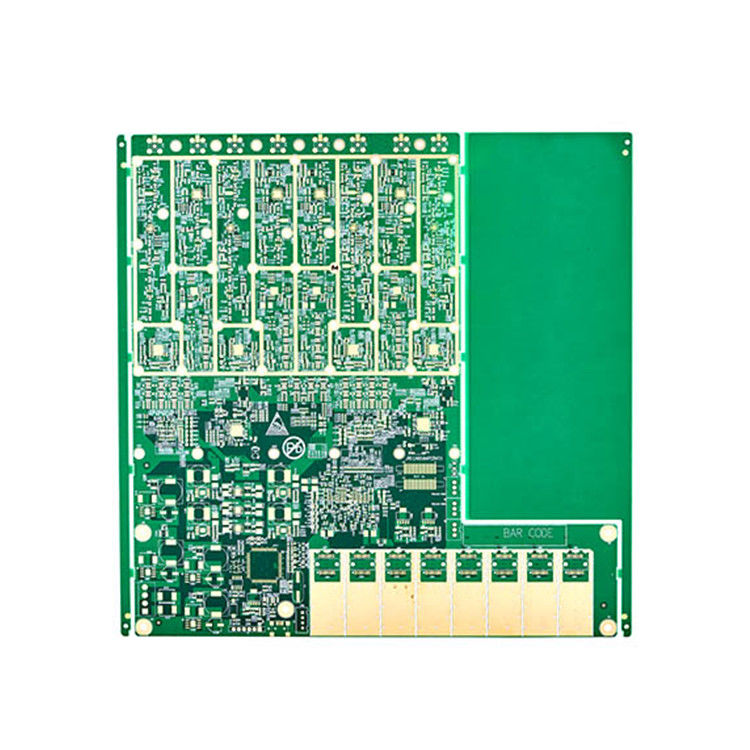 High Precision Multilayer Sided Electronic Pcb Board 6- Layer Hard Gold supplier
