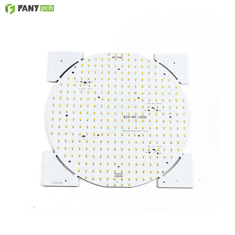 1mm thick solder mask ink Aluminum Clad PCB electronic circuits board supplier