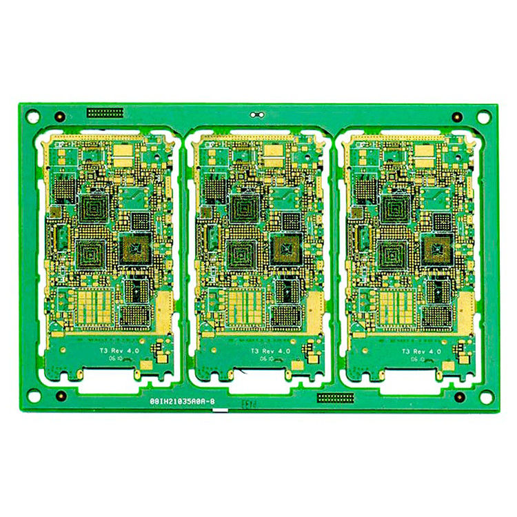 Customized Immersion Gold HDI PCB Board , Rigid Flex Printed Circuit Boards supplier