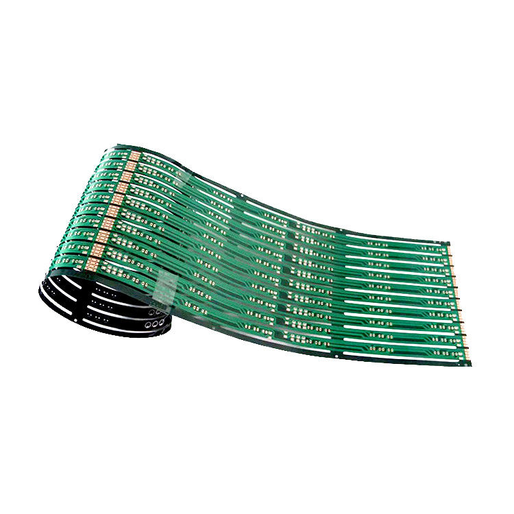 Multilayer FPC Flexible HDI PCB Circuit Board For IoT , CE / RoHs Certification supplier