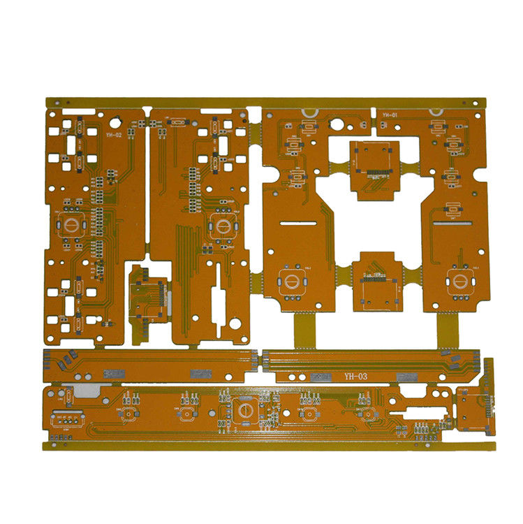 Customized Double Sided 4 Layer Pcb Pcba Prototype 0.35mm BGA Pitch supplier