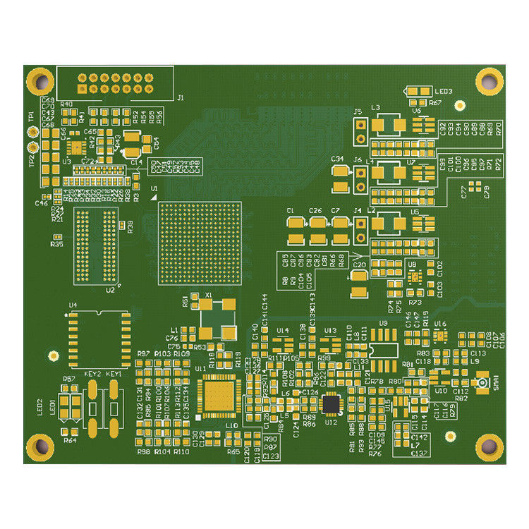 Custom multilayer pcb & pcba 4 layer PCB Printed circuit board Lead free supplier